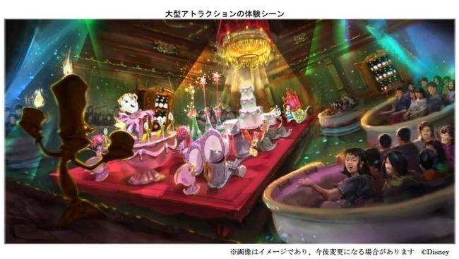 美女と野獣 ベイマックス アトラクション ディズニーランドに関連した画像-05