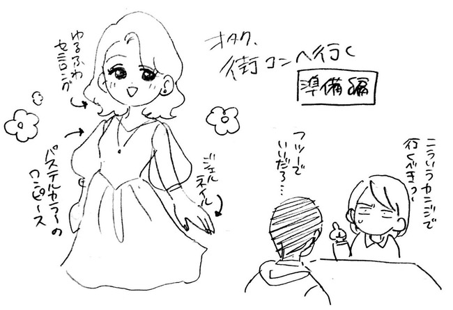 オタク 婚活 街コン 体験漫画 SSR リア充に関連した画像-06