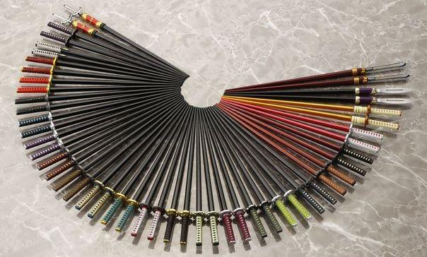 侍箸 箸 日本刀に関連した画像-01