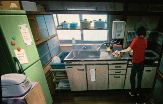 彼氏キッチン料理ドア閉めるに関連した画像-01