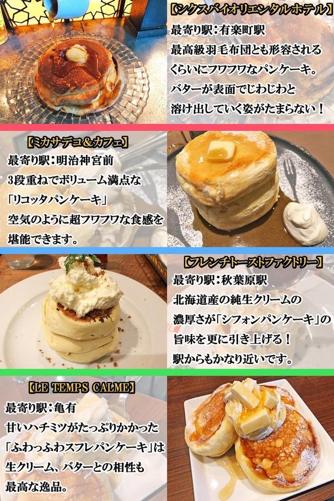 パンケーキ 東京 お店 美味しいに関連した画像-02