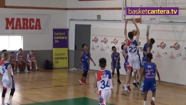 小学生2m13cm バスケ 無双に関連した画像-08