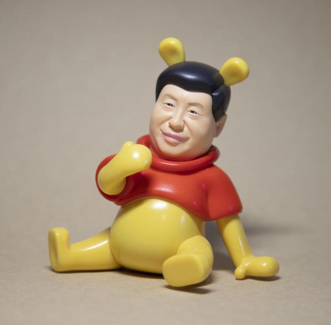 台湾 習近平 プーさん フィギュアに関連した画像-03