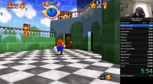 スーパーマリオ64 目隠しプレイ TASに関連した画像-01