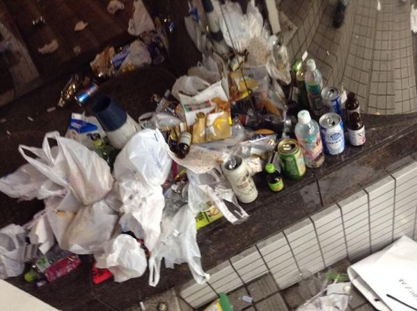 ハロウィン 渋谷 ゴミに関連した画像-07