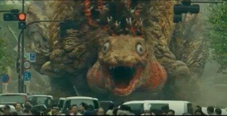 シン・ゴジラ 第二形態 ケチャップ ノズル 蒲田くん ワンフェスに関連した画像-01