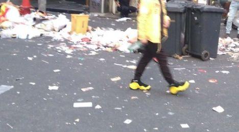 渋谷 ゴミ ゴミ箱 ハロウィンに関連した画像-01
