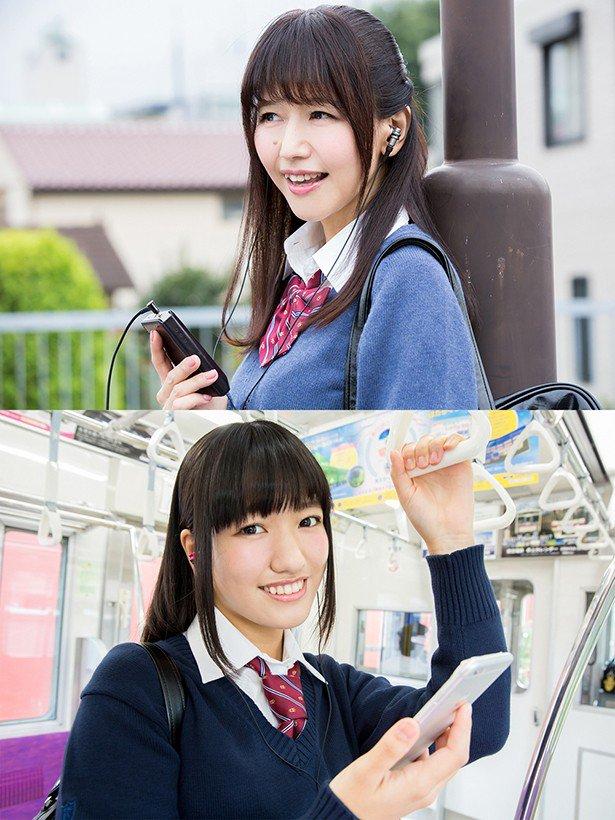 井上喜久子 ほの花 17歳 17歳教 W 制服姿 グラビア 初披露に関連した画像-03