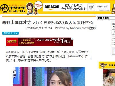 西野未姫 アイドル AKB48に関連した画像-02