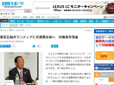 オリンピック 五輪 ボランティア 交通費 1000円 商品券に関連した画像-02