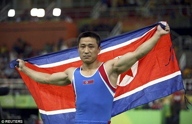 北朝鮮 オリンピック リオ五輪 金メダル 笑顔に関連した画像-04