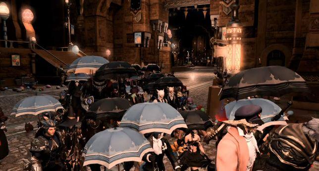 『FF14』プレイヤーが新型コロナウイルスにより亡くなる → 他のプレイヤーの呼びかけでゲーム内で大規模な追悼式が行われる