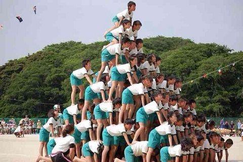 組体操 大阪市 禁止 教育委員会 骨折 ピラミッド タワー 文部科学省に関連した画像-01