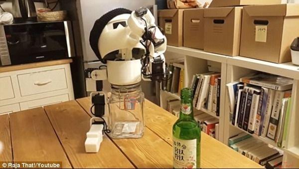 ロボット 酒 韓国 一人暮らし ソウル 博物館に関連した画像-04
