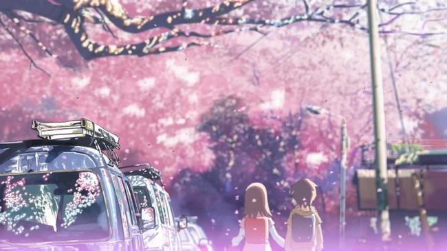 新海誠 映画 秒速5センチメートル 夜間 野外シネマ 上映 星空 屋台 東京国立博物館に関連した画像-01