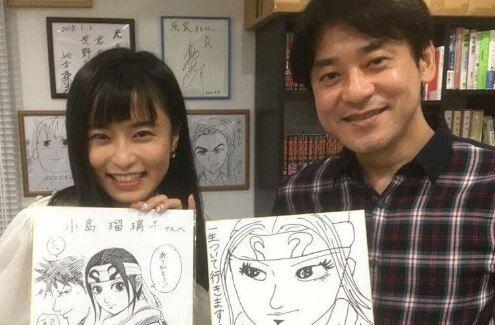 小島瑠璃子 キングダム 熱愛報道 漫画 アイドル 二股に関連した画像-01