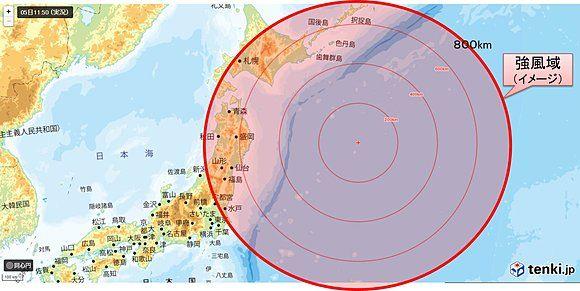 台風 強風 超大型に関連した画像-01