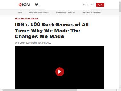 IGN歴代ベストゲーム2019年版に関連した画像-02