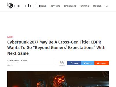 ウィッチャー CDPR Cyberpunk2077 サイバーパンク2077 次世代機に関連した画像-02