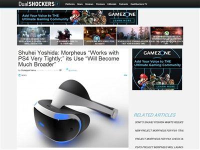 吉田修平 PS4 モーフィアスに関連した画像-02