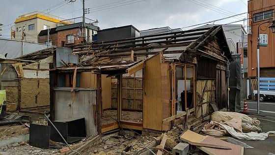 GIGIAZINE倉庫破壊事件 建造物損壊罪 地上げ 警察に関連した画像-01