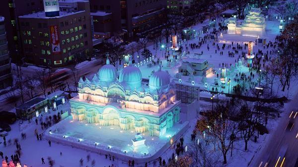 雪まつり 冬 日帰り 北海道に関連した画像-01