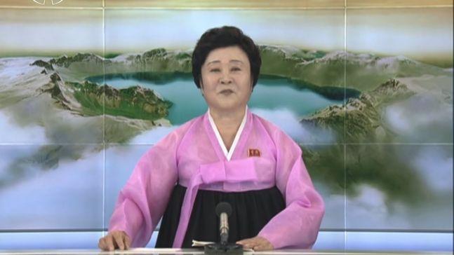 北朝鮮 チマチョゴリ 北朝鮮中央朝鮮TV おばさん 引退 ピンクレディーに関連した画像-01