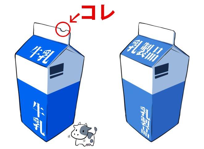牛乳パック 切れ込み 切り欠け 視覚障がい者 加工食品品質表示基準に関連した画像-02