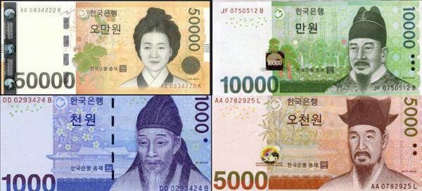 韓国紙幣 デザイン 親日家に関連した画像-01