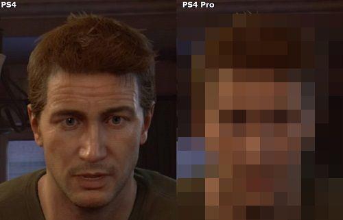 アンチャーテッド4 PS4 PS4Pro スクショ 比較に関連した画像-01