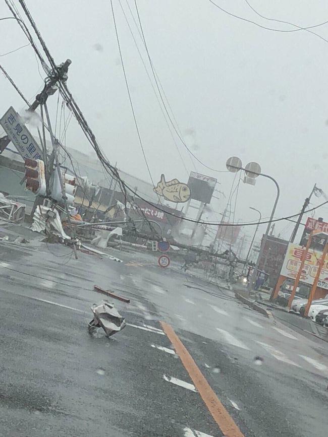 台風21号 大阪 暴風雨 災害に関連した画像-02