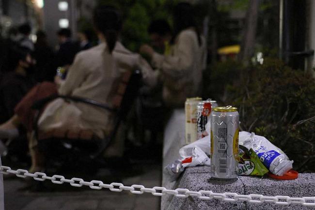 東京都 路上飲み 飲酒 緊急事態宣言 居酒屋に関連した画像-01