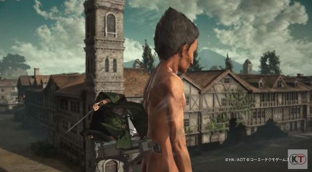 進撃の巨人 PS4 ゲーム PVに関連した画像-09