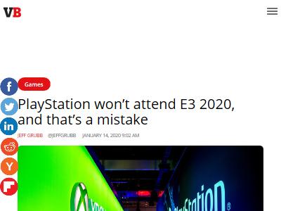 ソニー PS5 E3 不参加に関連した画像-02