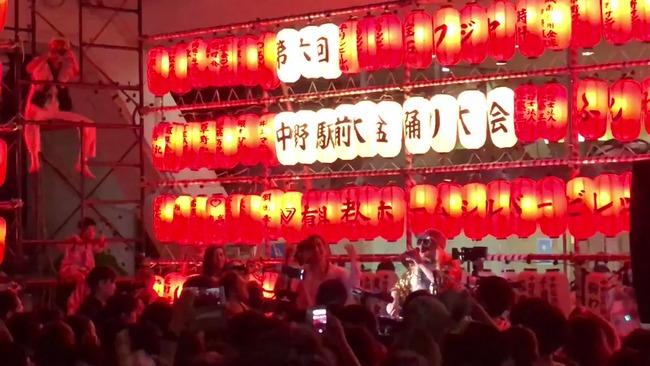 中野駅前盆踊り ボン・ジョビ 公式 捕捉 に関連した画像-01
