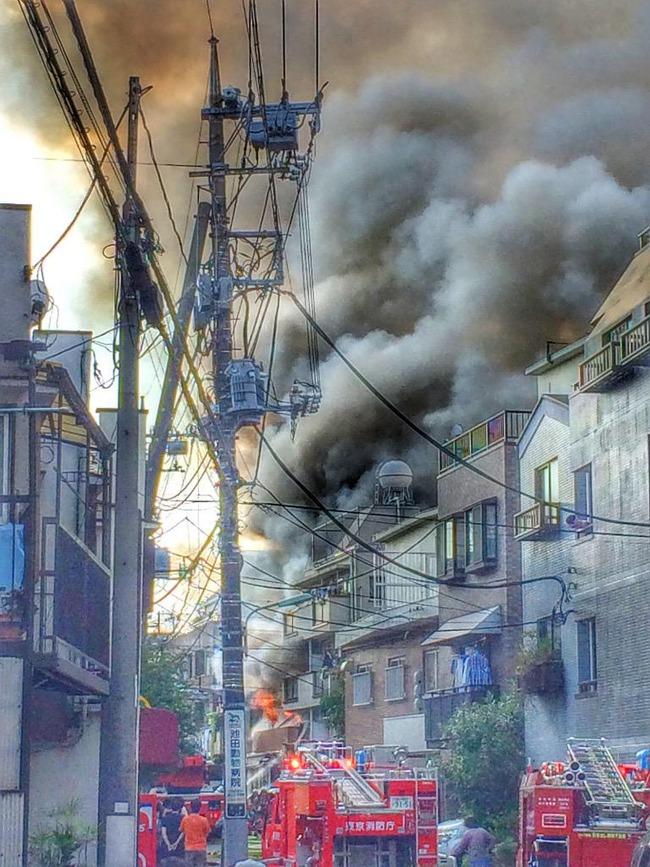 火災 品川 配信者 生主 だーすけに関連した画像-06