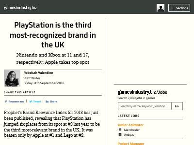 イギリス 消費者 なければ生活できない ブランド Xbox 任天堂 PlayStationに関連した画像-02