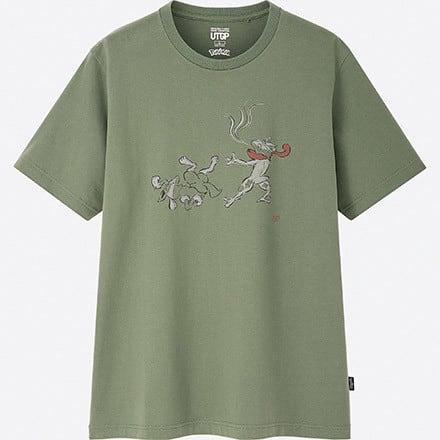 ユニクロ ポケモン Tシャツに関連した画像-05