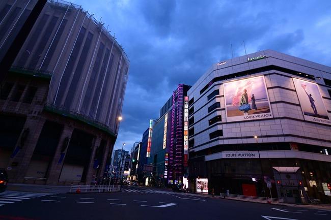 新宿 ガラガラ 外出自粛に関連した画像-02