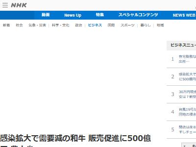 日本政府 安倍政権 お肉券 和牛 販売促進 500億円 に関連した画像-02
