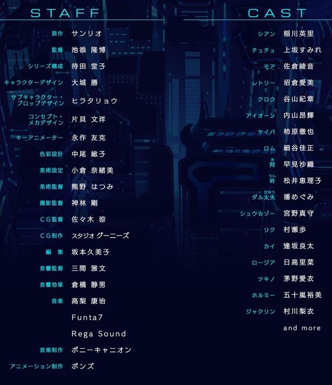 SHOW BY ROCK!! サンリオ 春アニメ ボンズ に関連した画像-03