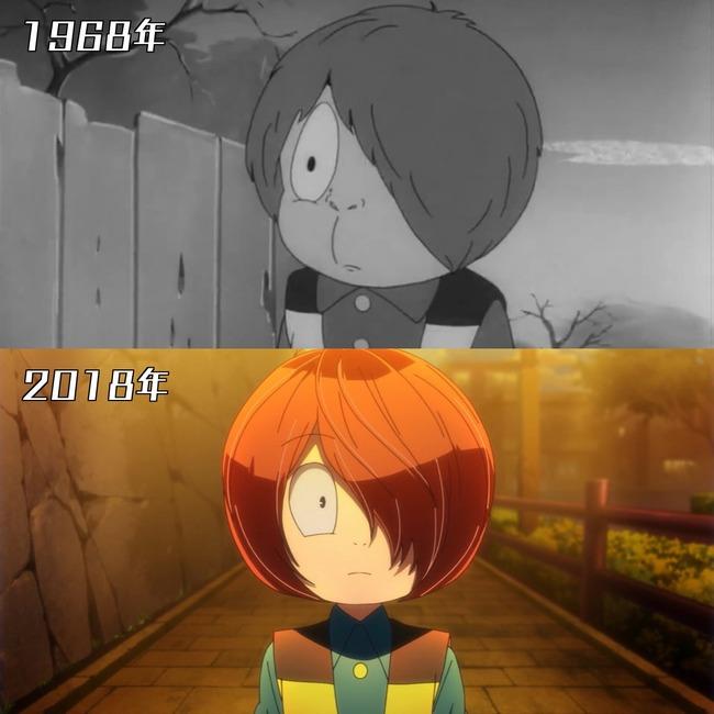アニメ 作画 進歩 同じキャラ キャラクター  に関連した画像-05