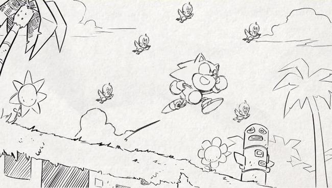 ソニックマニア 配信日決定 アニメーションPVに関連した画像-05