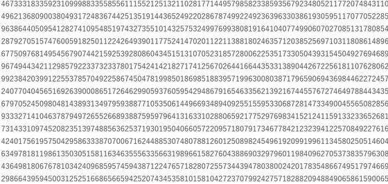 素数 史上最大の素数 50番目 メルセンヌ素数 100万ケタに関連した画像-03