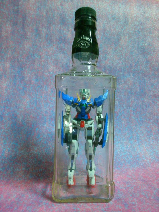 ガンダム オタク ガンプラ ボトルシップに関連した画像-03