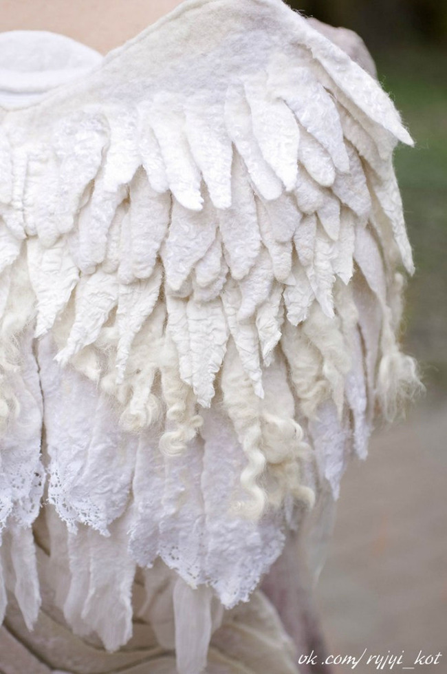 羽 バックパック 鳥の羽 リュックサック 鞄に関連した画像-10