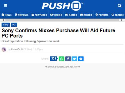 ソニー PC 移植 Nixxes 買収に関連した画像-02