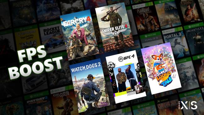 XboxSX XboxSS 前世代機ゲーム 60FPS以上 動作 FPSブースト 発表に関連した画像-01