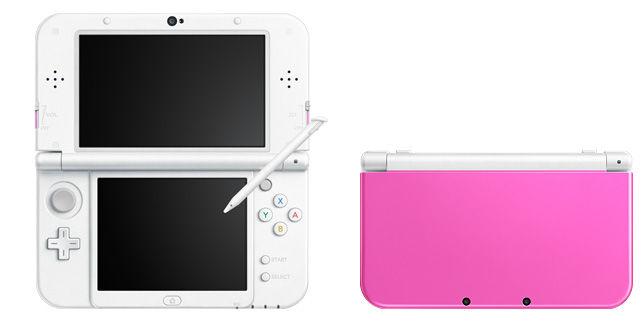3DS 新色 3DS ライム ブラック ピンク ホワイトに関連した画像-04