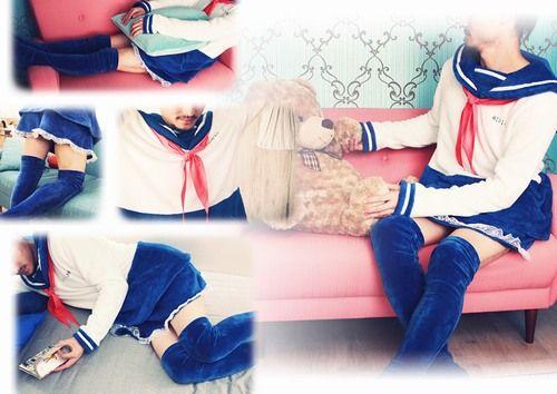 女装 セーラー服に関連した画像-04
